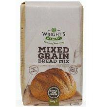 Wrights Baking Mixed Grain Bread Mix - 5x500g