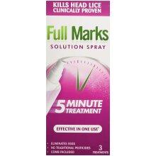 Full Marks Head Lice Solution Spray, 150ml