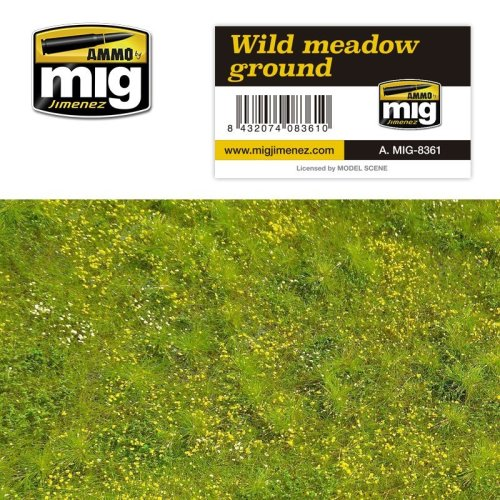 Ammo by Mig Grass Mat - Wild Meadow Ground