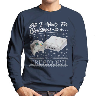 All I Want For Christmas Is A Dreamcast Men's Sweatshirt
