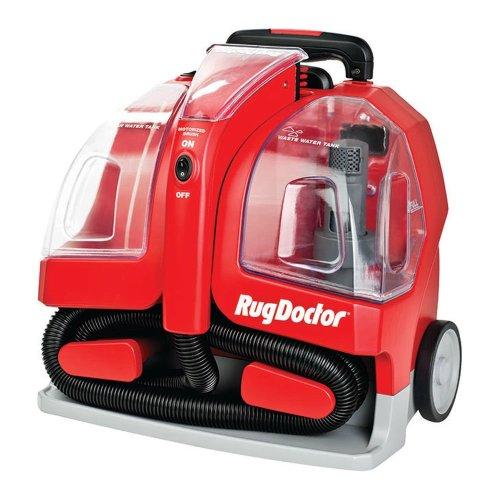 RUG DOCTOR 93306 Portable Spot Cylinder Carpet Cleaner - Red, Red