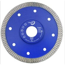 Porcelain Tile Turbo Thin Diamond Dry Cutting blade/Disc Grinder 125mm