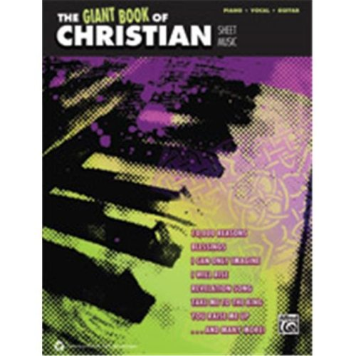 Alfred 00-41481 GIANT BOOK OF CHRISTIAN SHEET- PVG