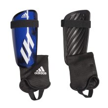adidas X 20 Adult Football Soccer Match Shinguard Shin Pad Black/Royal Blue