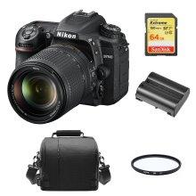 NIKON D7500 KIT AF-S 18-140MM ED VR DX+64Gcard+Bag+EN-EL15A+67mmFilter
