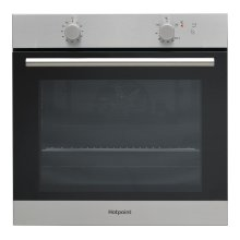 Hotpoint GA2124IX Built In  Gas Single Oven 60cm Stainless Steel
