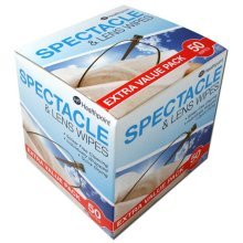 Healthpoint Spectacle And Lens Wipes -  wipes spectacle lens 50 glasses phone healthpoint sunglasses x cleaning