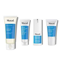 Murad 30-Day InvisiScar Acne Kit - Skin Care Kit with Full Size InvisiScar Resurfacing Treatment + 3 Trial Size Skin Care Products for Blemish and Bre