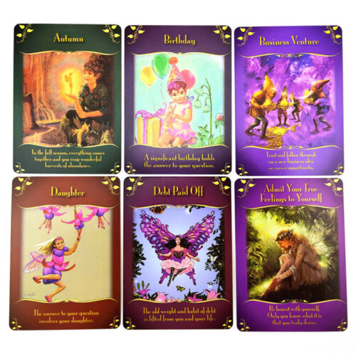 Magical Messager From The Fairies Oracle Cards By Doreen Virtue Tarot Games Toys