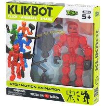 Axil Red KlikBot Hero Figure