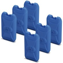 6 x Adriatic Reusable Ice Packs for Cooler Boxes