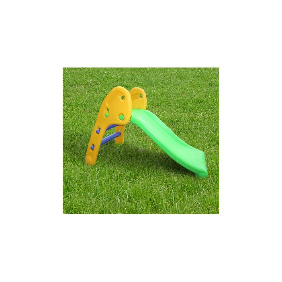 HOMCOM Children's Slide Tikes Kids Toddler Play Toy ...