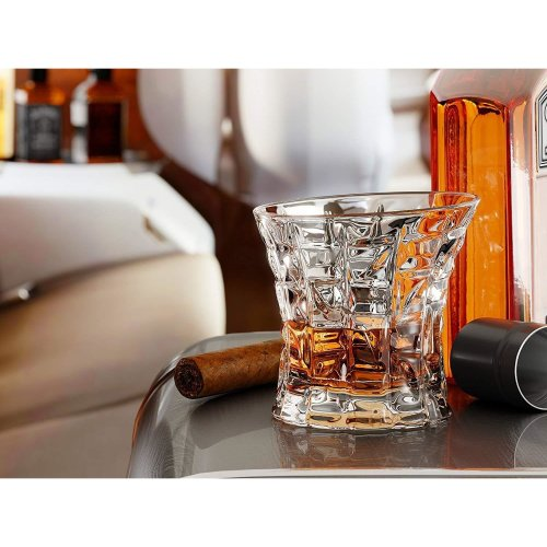 (2 pack) Whiskey Glass - 250ml | Old Fashioned Glass Tumbler