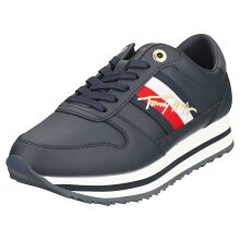 Tommy Hilfiger Signature Runner Sneaker Womens Fashion Trainers in Desert Sky