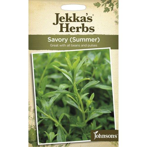 Johnsons - Jekka's Herbs - Pictorial Pack - Savory Summer - 350 Seeds