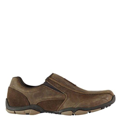 Kangol Mens Vine Slip On Casual Low Top Shoes Tonal Stitching Footwear