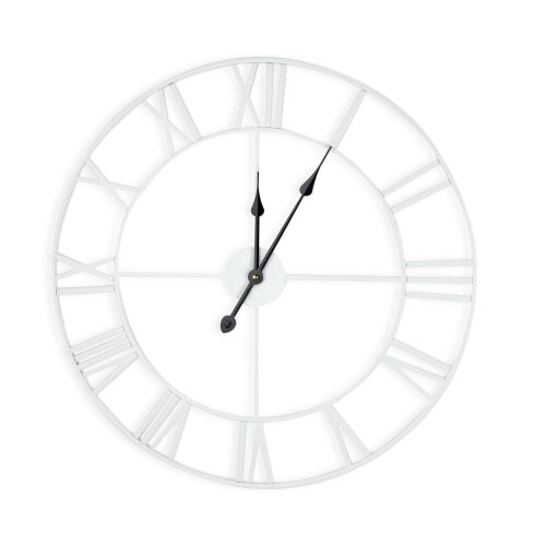Extra Large Roman Numeral Skeleton Wall Clock - 60cm