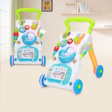 2in1 Baby Walker First Steps Activity Bouncer Musical Toys Car