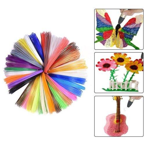 1.75mm 3D Pen Filament Fillament PLA ABS Filament 5m/10m Random Color Children Scribble Tools