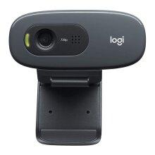 Logitech C270i Desktop or Laptop Webcam, HD 720p