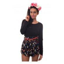 Brixton Nights Chiffon Floral Shorts