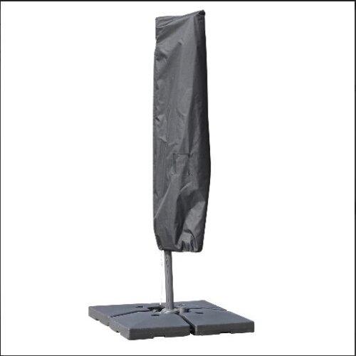 Outsunny Umbrella Parasol Cover, 200Lx50/80W cm-Black