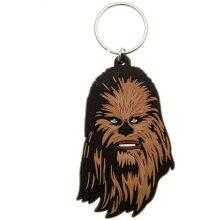 Star Wars Rubber Chewbacca Keyring