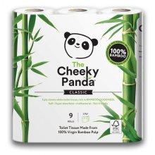 100% Bamboo Toilet Tissue 9 Pack (Cheeky Panda)
