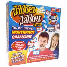 Jibber Jabber Party Game - The Hilarious Mouthpiece Game