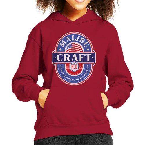 Malibu Craft Ale Kid's Hooded Sweatshirt