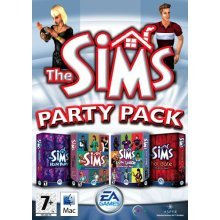 The Sims: Party Pack (Mac/DVD) - Used