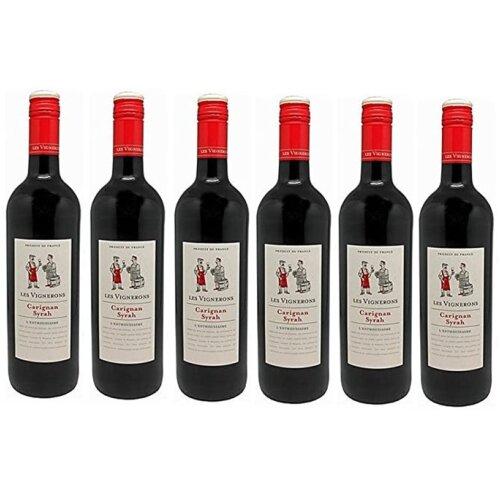 Les Vignerons Carignan Syrah (case of 6 x 75cl bottles)