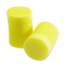 3M 3101060 Classic Ear Plugs  Pillow Paks  Uncorded  Foam  Yellow  30 Pairs/Box