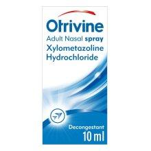 Otrivine Adult Decongestant 0.1% Nasal Spray, 10 ml