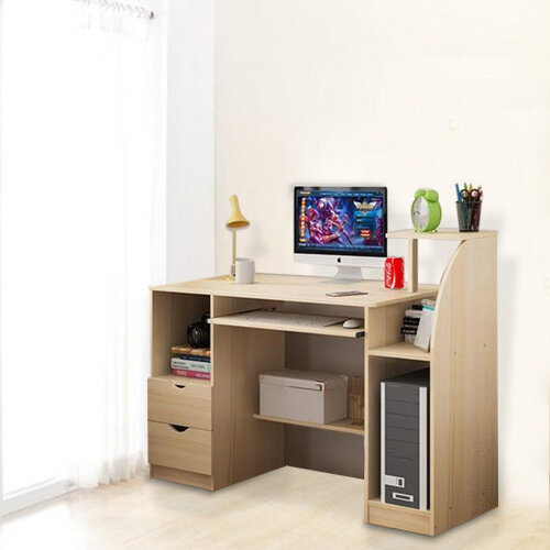 Large Computer Desk PC Table Workstation Home Office Study Furniture