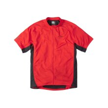 Madison Flame Red 2015 Trail Short Sleeved MTB Jersey - L