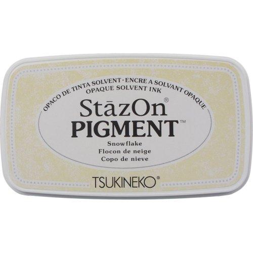 Stazon Pigment Ink Pad-Snowflake