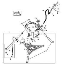 Ridgid 632-41020 450 Tristand Chain Vise Jaws