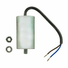 UNIVERSAL START CAPACITOR mfd 10uf 450VAC WITH 22cm OF CABLE CONNECTOR