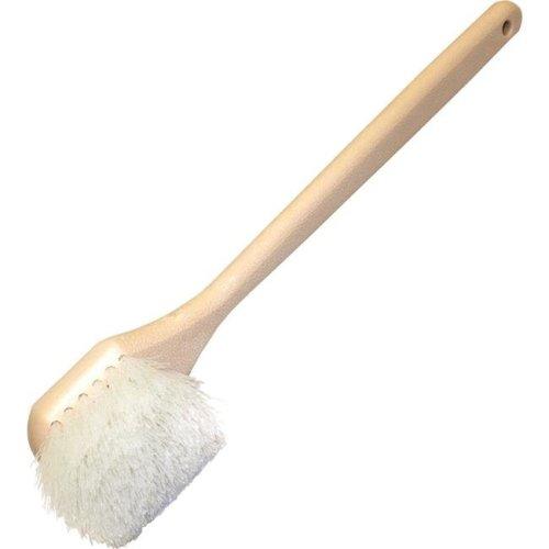 Genuine Joe GJO98216 20 in. Nylon Utility Brush - White