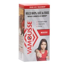 Vamousse Head Lice and Eggs Treatment Mousse - 160ml