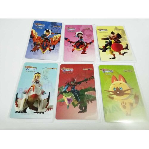 (6pcs Monster Hunter) Zelda/Animal Crossing/Splatoon 2/Mario Kart Series Amiibo NFC TAG Cards