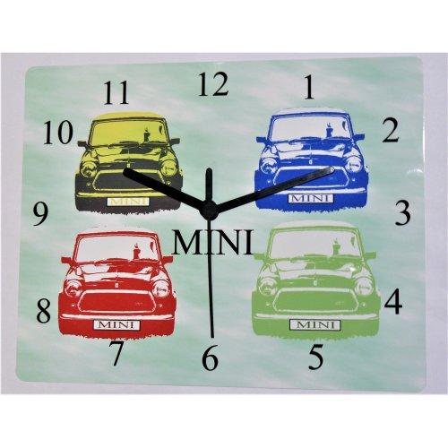 mini wall clock classic mini car retro mini wall clock