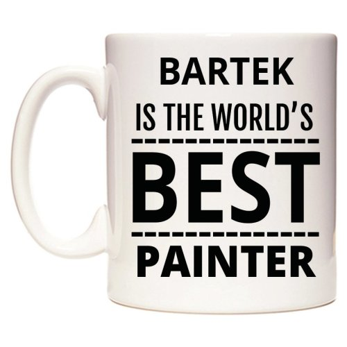 BARTEK Is The World's BEST Painter Mug