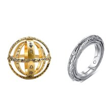Museum astronomical ball ring  couple ring