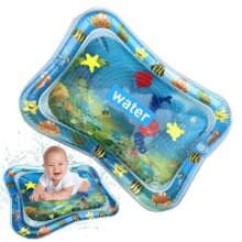 Inflatable Tummy Time Mat Premium Baby Water Play Mat 3 to 24 Months