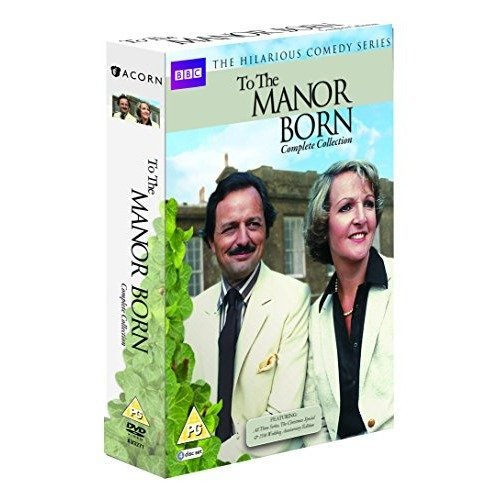 To The Manor Born Series 1 to 3 Complete Collection & Anniversary Special DVD [2015]