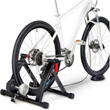 """Yaheetech Turbo Trainer with 6 Speed Adjustment Folding Bike Trainer Stand Magnetic Bike Trainer with Wire-control, Fits for 26"""" - 29"""", 700C"""