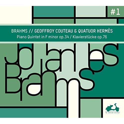 HERMESCOUTEAU - BRAHMSPIANO QUINTET IN F MINOR OP 34 [CD]