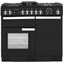 Rangemaster PROP100DFFGB/C Professional Plus 99cm 5 Burners  Dual Fuel Range